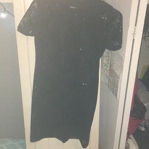 black sparkly very cute dress